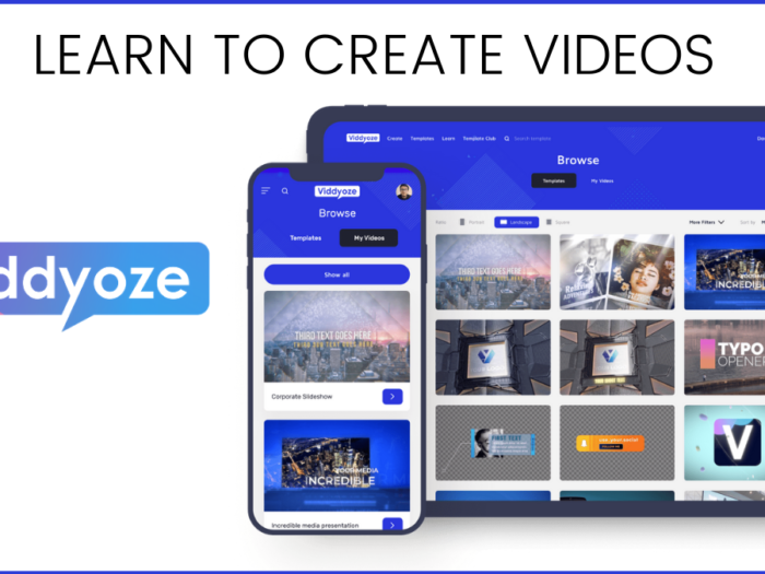 how to create videos in viddyoze