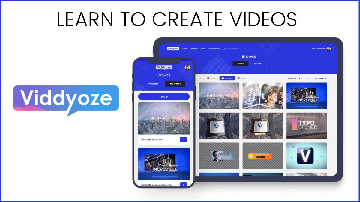 How to Create Videos in Viddyoze? (Guide for Using Viddyoze)