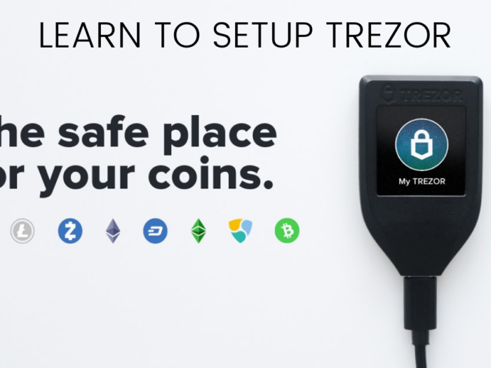 how to set up trezor