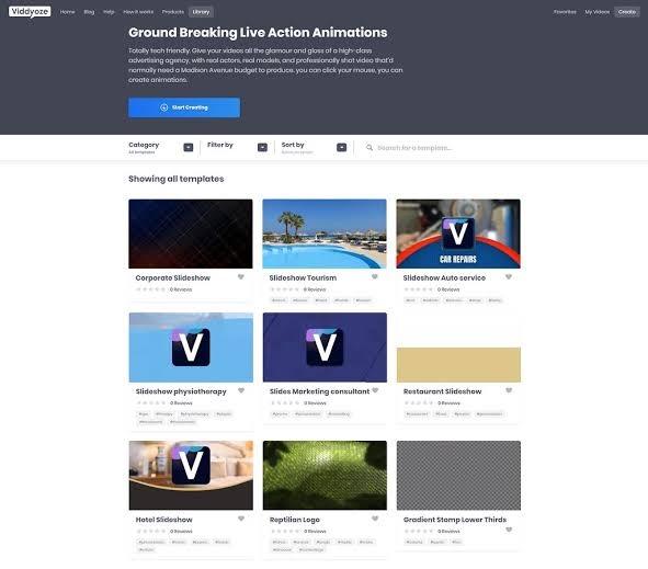 viddyoze animation templates