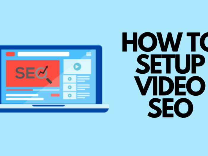 how to set up video seo on wordpress