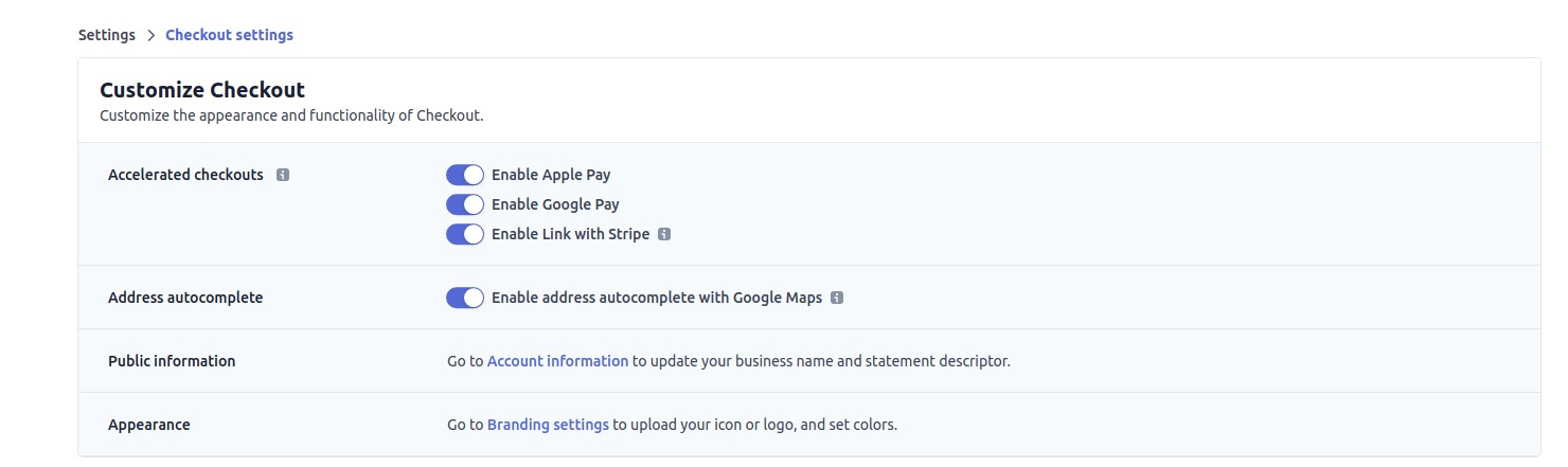 enable apple pay and google pay with stripe on memberpress