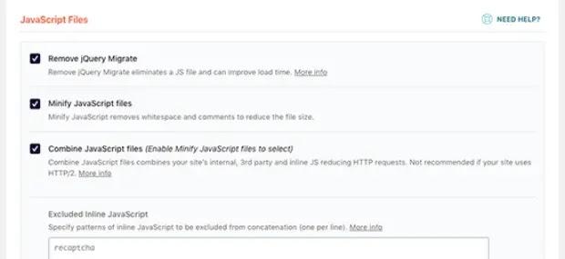 fix render blocking for improving wordpress site's core web vital score