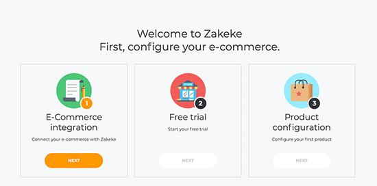 configure ecommerce website with zakeke