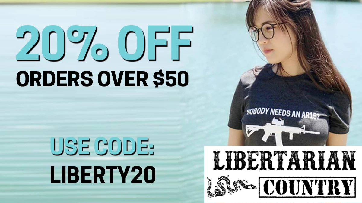 Libertarian Country Discount Code (20% OFF Coupon Code)
