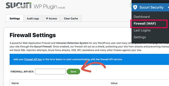 Add HTTP Security Headers using sucuri