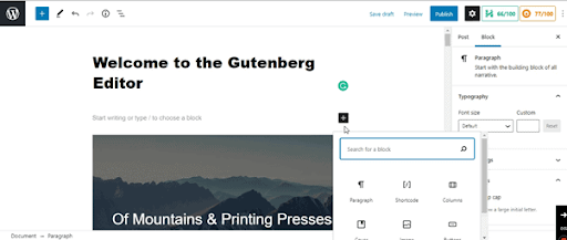 add breadcrumb navigation in wordpress using gutenberg editor