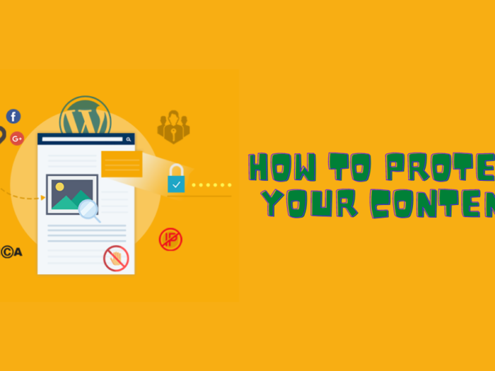 how to protect your content