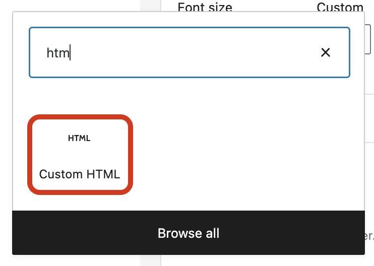 edit code in wordpress html editor