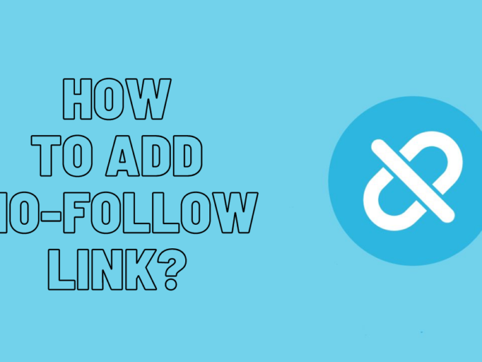 how to add nofollow links to wordpress