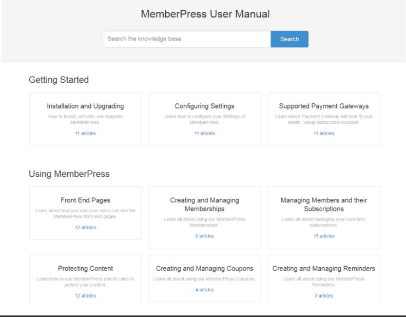 memberpress knowledge base