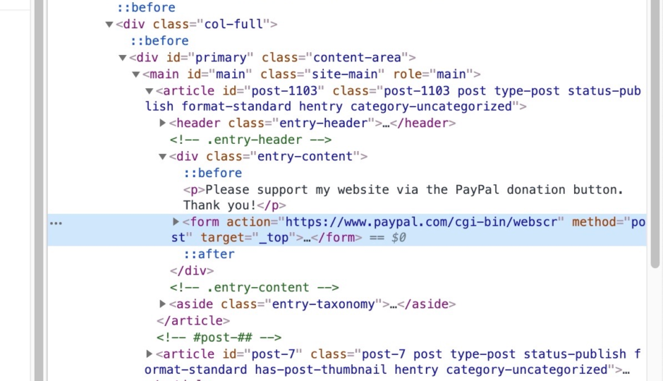 mobile mode in chrome dev tools to preview websites on desktop