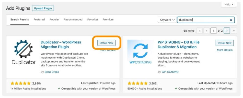 how to install wordpress plugin directly from the dashboard