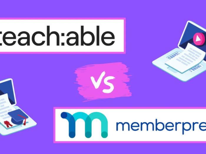 memberpress courses vs teachable